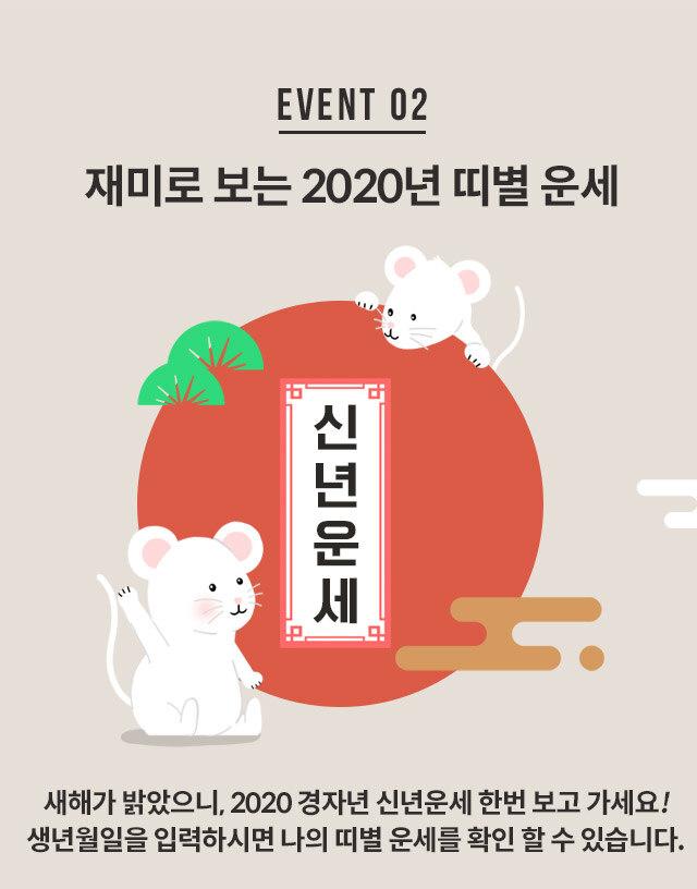 재미로 보는 2020년 띠별 운세